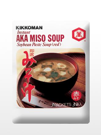 Sopa instantánea de Miso Rojo y Alga Wakame