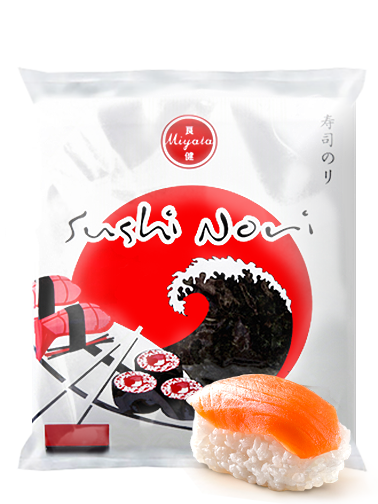 Alga Nori Esmeralda Oscura para Sushi