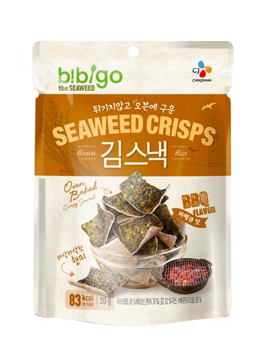 Snack Chips de Algas y Arroz Integral | Sabor BBQ