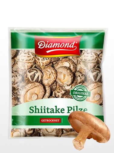 Setas Shiitake Deshidratadas