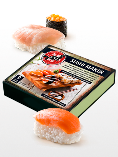 Sushi Kit Box Maker y Sake