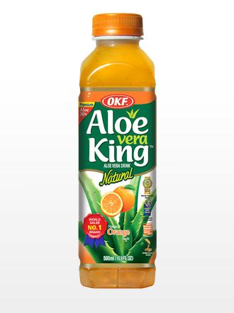 Bebida Aloe Vera Naranja