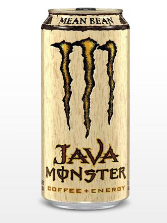 Bebida Energética con Café Monster Java Mean Bean | USA 443 ml.