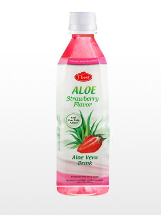 Bebida Aloe Vera & Strawberry