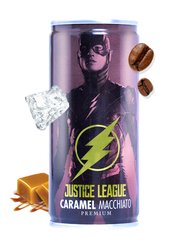 Café con Leche y Caramelo | La Liga de la Justicia | Flash 210 ml