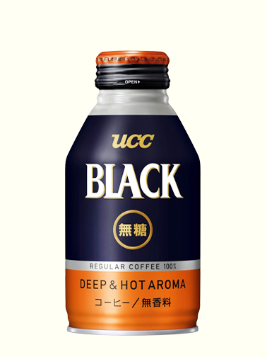 Café Black Deep & Hot aroma | The Coffe | UCC 260 ml