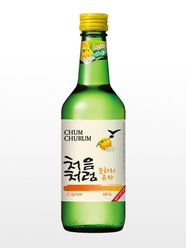 Licor Coreano Soju Chum Churum Citron Yuzu