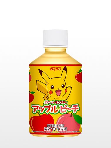Bebida de Manzana y Momo | Pikachu