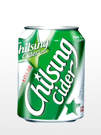 Refresco Coreano Chilsung Sparkling Original | 245 ml.