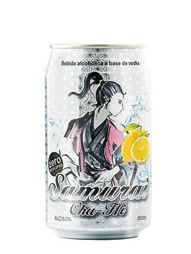 Bebida Samurai Chu Hi de Limón