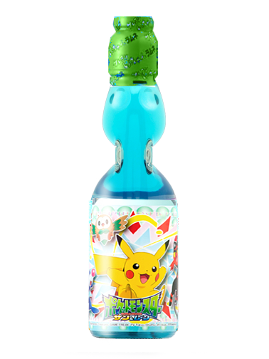 Soda Ramune Limón | Edit. Pokemon Pocket Monsters XY