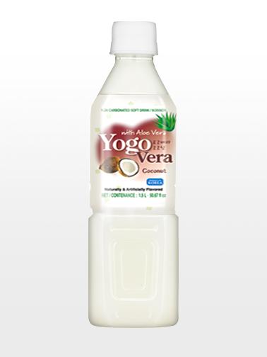 Bebida Coreana de Yogur con Aloe Vera y Coco