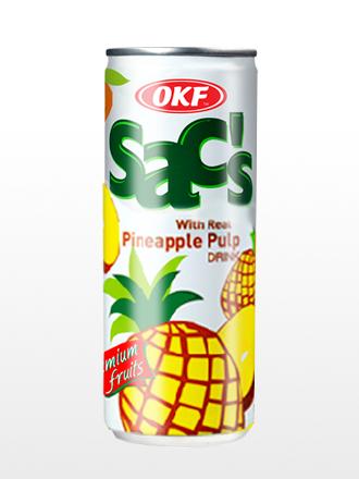Bebida Coreana de Zumo de Piña con Pulpa | OKF