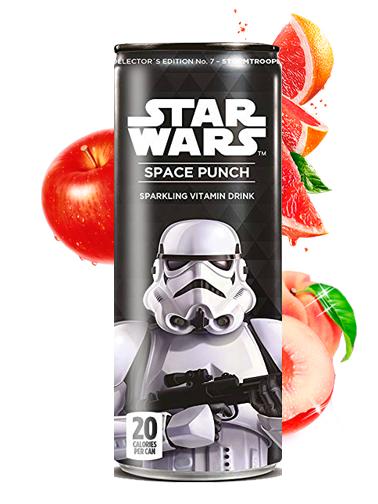 Soda Star Wars Space Punch Stormtrooper | Edición Coleccionista 355 ml