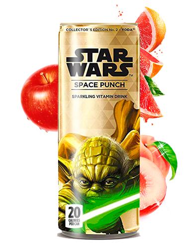 Soda Star Wars Space Punch Yoda | Edición Coleccionista 355 ml