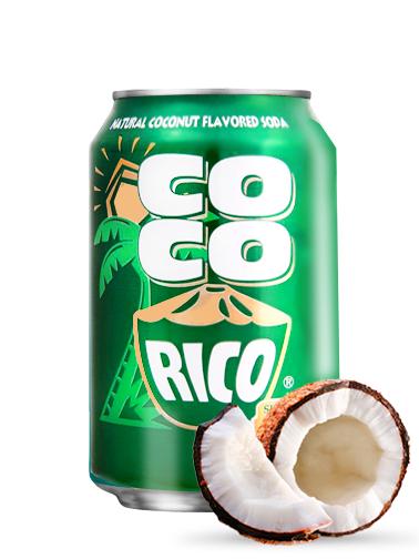 Soda Sabor a Coco | Coco Rico