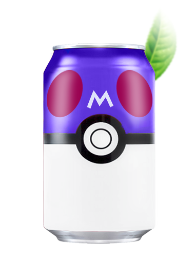 Agua Soda Menta | Edición Pokemon 330 ml