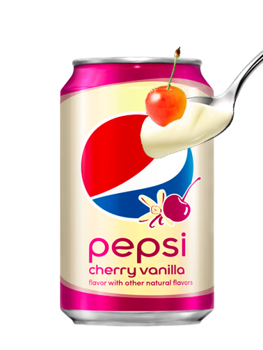 Pepsi Cereza Vainilla | Cherry Vanilla 355 ml