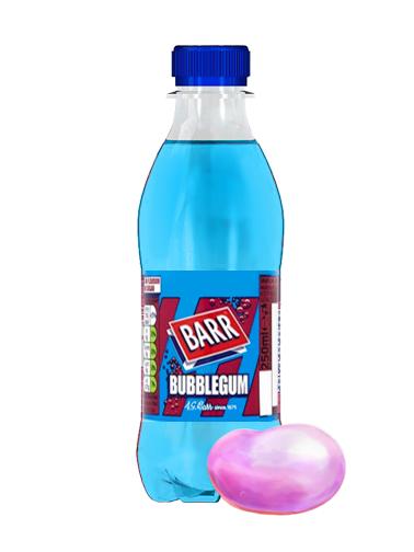 Soda Barr Bubblegum   Sabor Chicle 250 ml