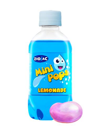 Soda Mini Pops Bubblegum Sin Azúcar | Sabor Chicle 330 ml