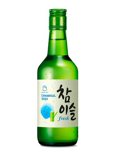 Licor Coreano Soju Chamisul | Fresh 350 ml