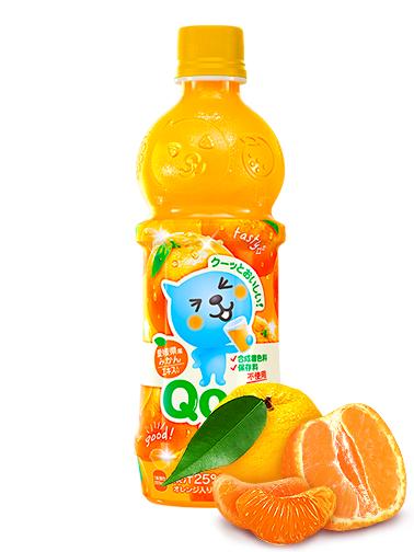 Bebida de Zumo de Naranja   Qoo 470 ml