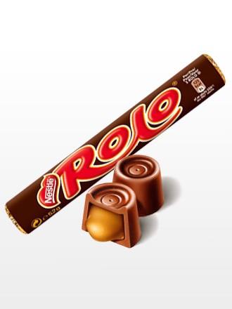 Caramelos de Chocolate Nestle rellenos de Toffee