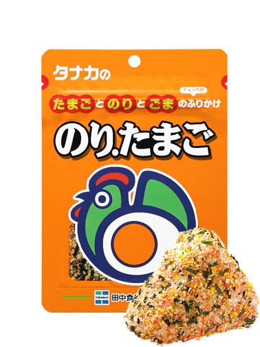 Furikake Bento & Onigiri de Huevo 30 grs