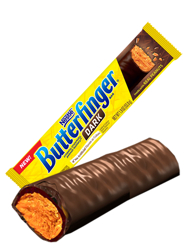 Barrita Crujiente de Chocolate Negro y Crema de Cacahuete | Butterfinger | Pedido GRATIS!