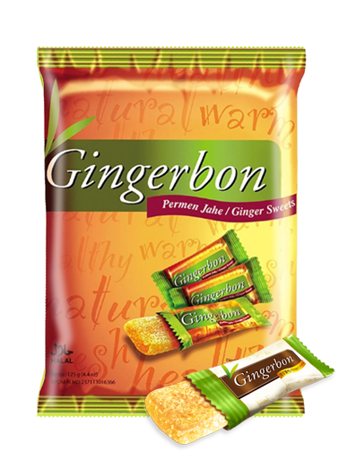 Caramelos de Jengibre Escarchado 125 grs