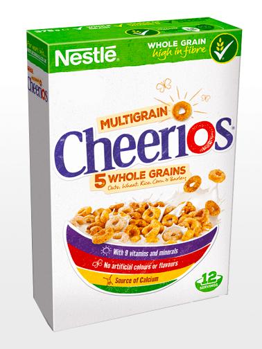 Cereales Cheerios Multigrain | 5 Cereales