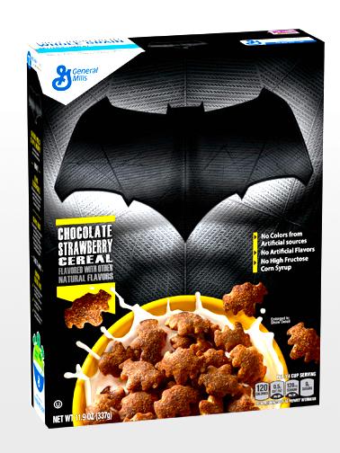 Cereales de Chocolate y Fresa  | Edit. Coleccionista Batman