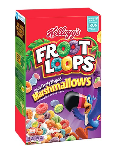 Cereales Froot Loops con Marshmallows Afrutados 297 grs.