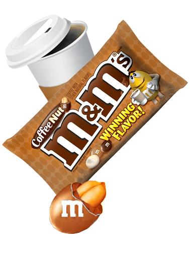 M&M's de Cacahuete y Chocolate sabor Café | Edición Limitada 92 grs | Pedido GRATIS!