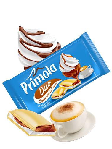 Chocolate Primola de Nata y Capuccino 87 grs