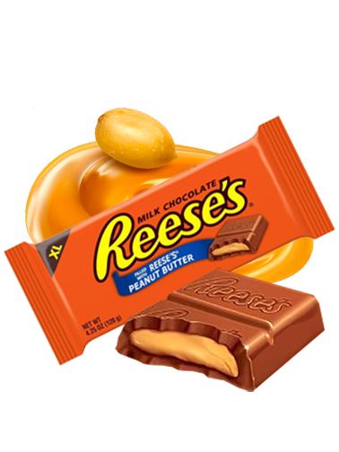 Chocolate en Tableta Reese's rellena de Crema de Cacahuete