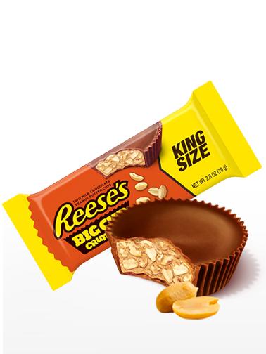 Chocolatinas 2 Cups Reese´s Crunchy de Crema y Toppings de Cacahuete | King Size