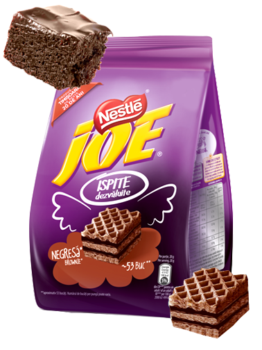 Mini Barritas de Barquillo Nestle con Chocolate estilo Brownie 180 grs