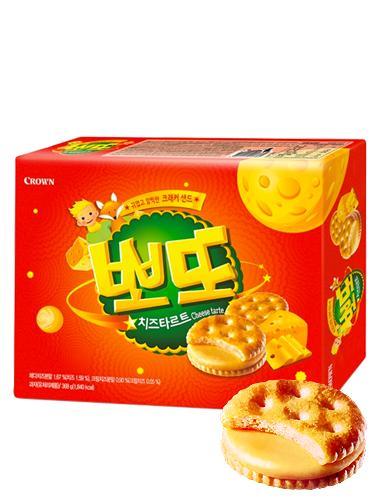 Galletas Saladas Coreanas de Crema de Queso Dulce 161 grs | Pedido GRATIS!