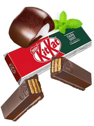 Kit Kat Chocolate Negro y Menta | Edición 2 Barritas