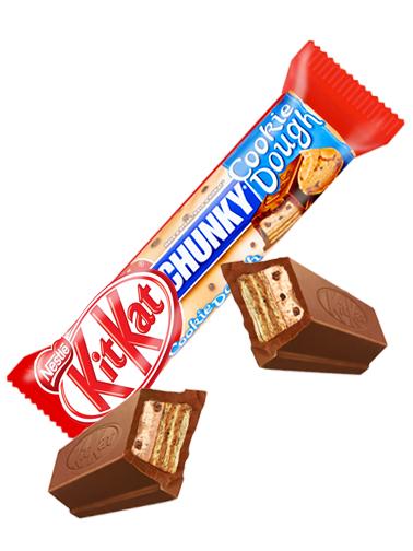Gran Kit Kat de Masa de Cookies y Chocolate