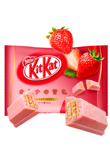 Mini Kit Kat de Fresones Dulces de Campiña | 12 Unidades