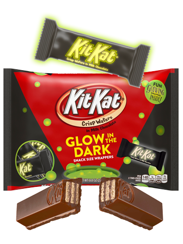 Mini Kit Kats Fluorescentes de Halloween | Edición Halloween