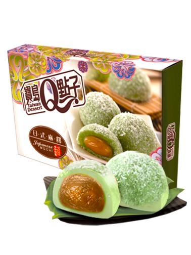 Mochis Daifuku de Crema de Pandan y Coco   Sakura Box