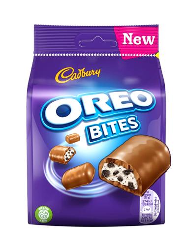 Barritas de Chocolate Cadbury y Oreo 110 grs