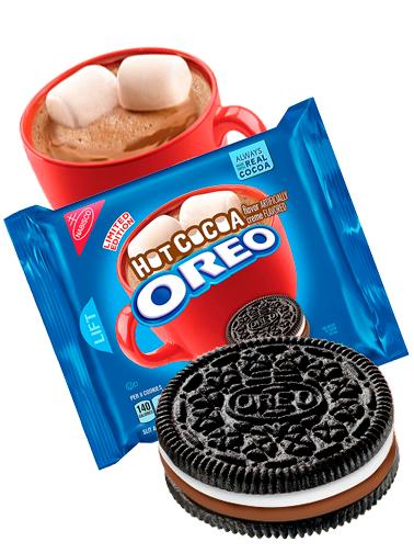 Oreo de Chocolate Caliente y Marshmallows | Edit Limitada 303 grs