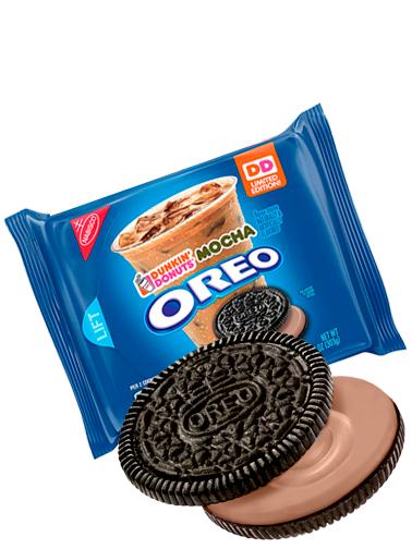 Oreo Crema Mocha de Dunkin Donuts | Edición Limitada