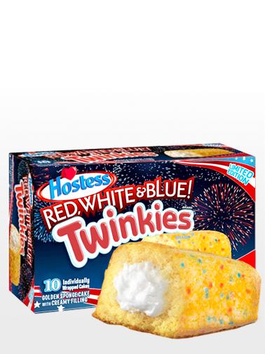 Pasteles Twinkies con relleno de Crema de Vainilla | Edit. Independence Day | Pedido GRATIS!