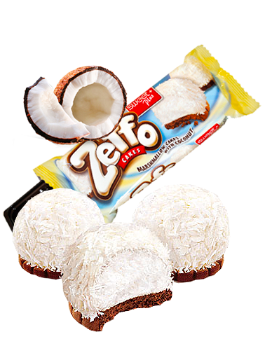 Pasteles Crema Marshmallows de Coco y Chocolate 35 grs