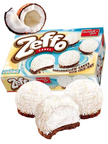 Pasteles Crema Marshmallows de Coco y Chocolate 115 grs